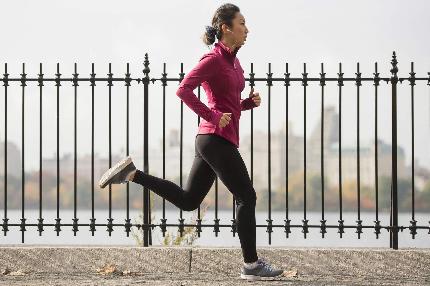 46 year old woman runner