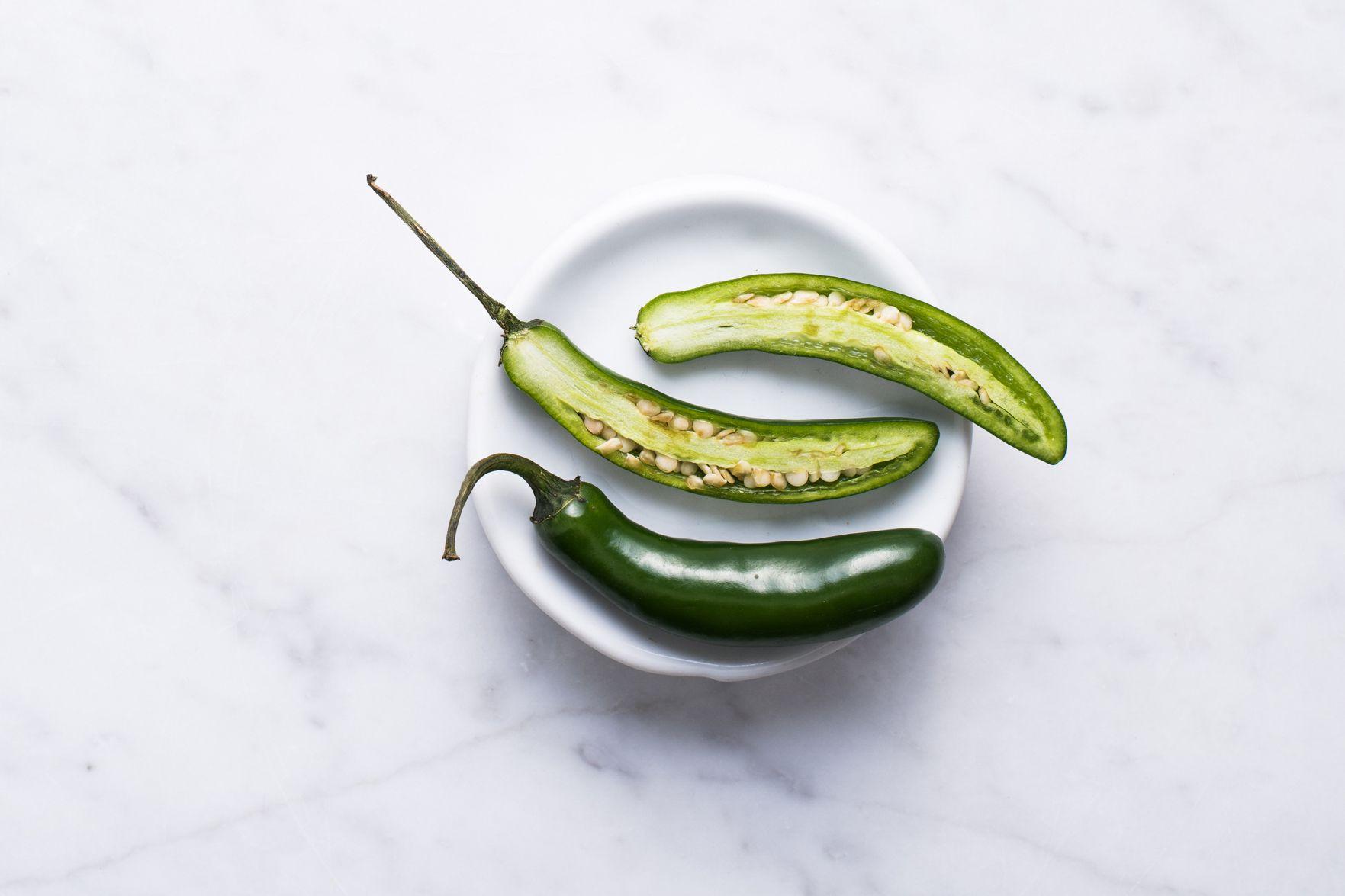 Chiles serranos