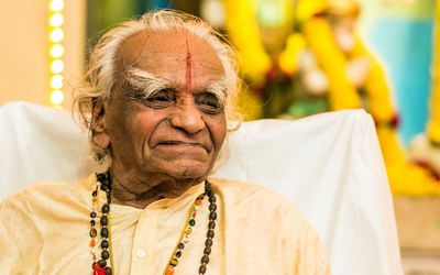 B.K.S. Iyengar in 2012
