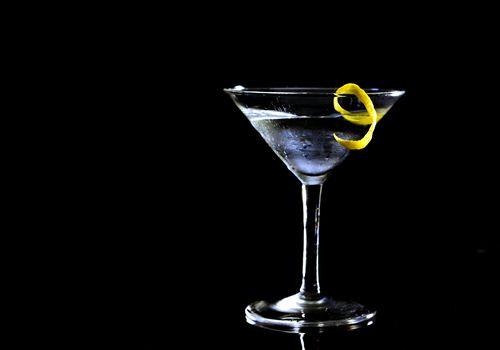 Martini with a citrus twist