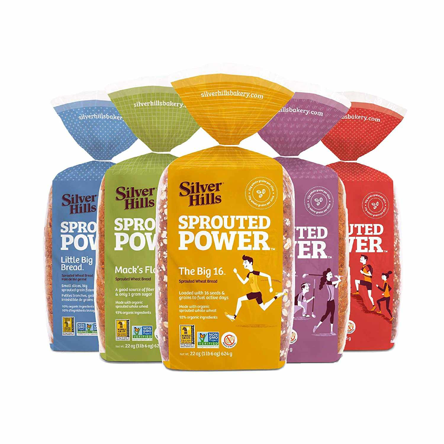 Silver Hills Sprouted Power Low Fat Bread