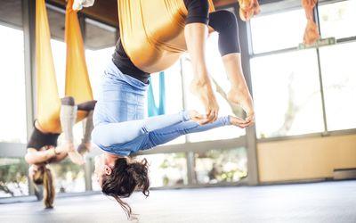AntiGravity Yoga Class