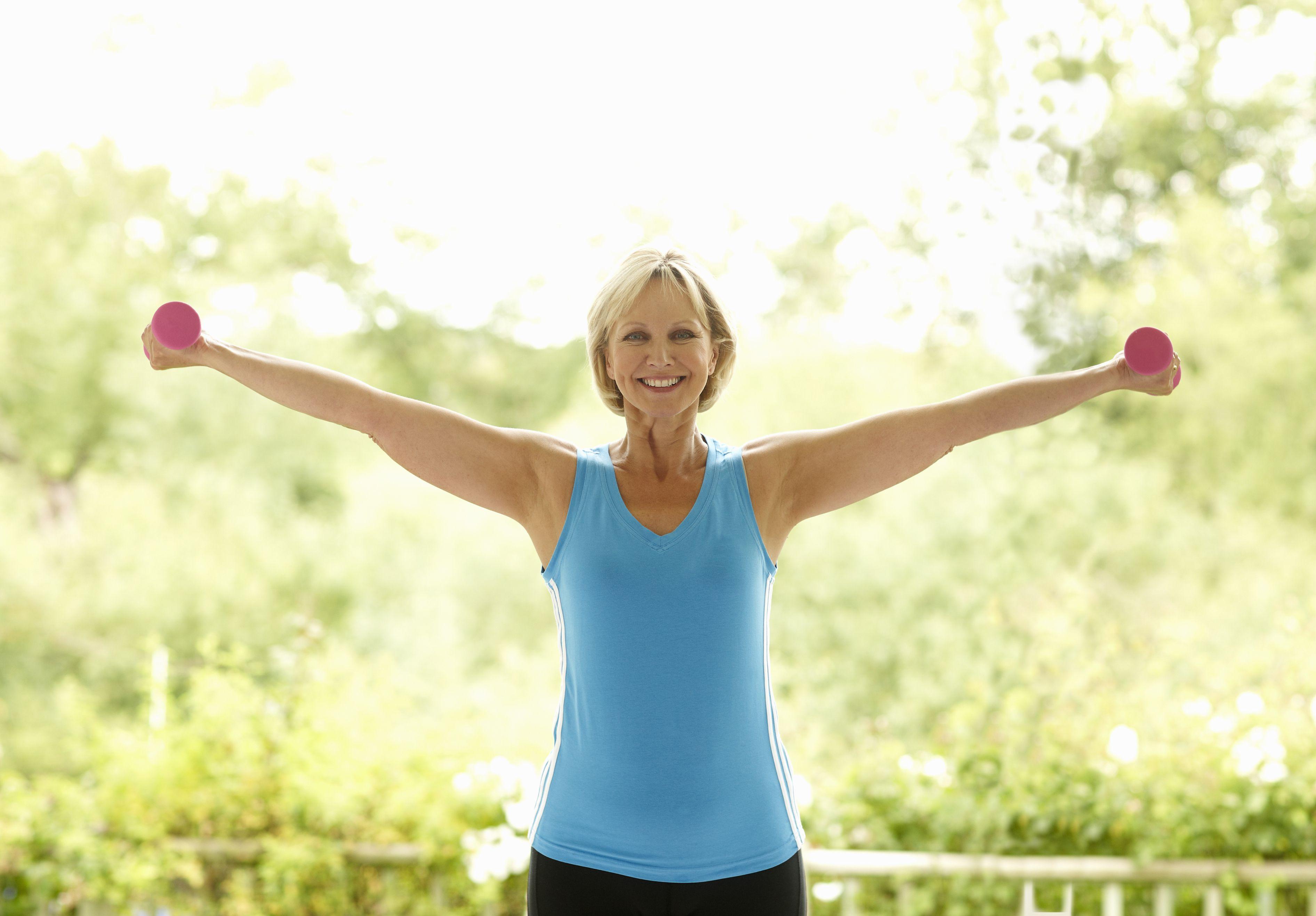 Dumbbell Strength Training Exercises for Seniors