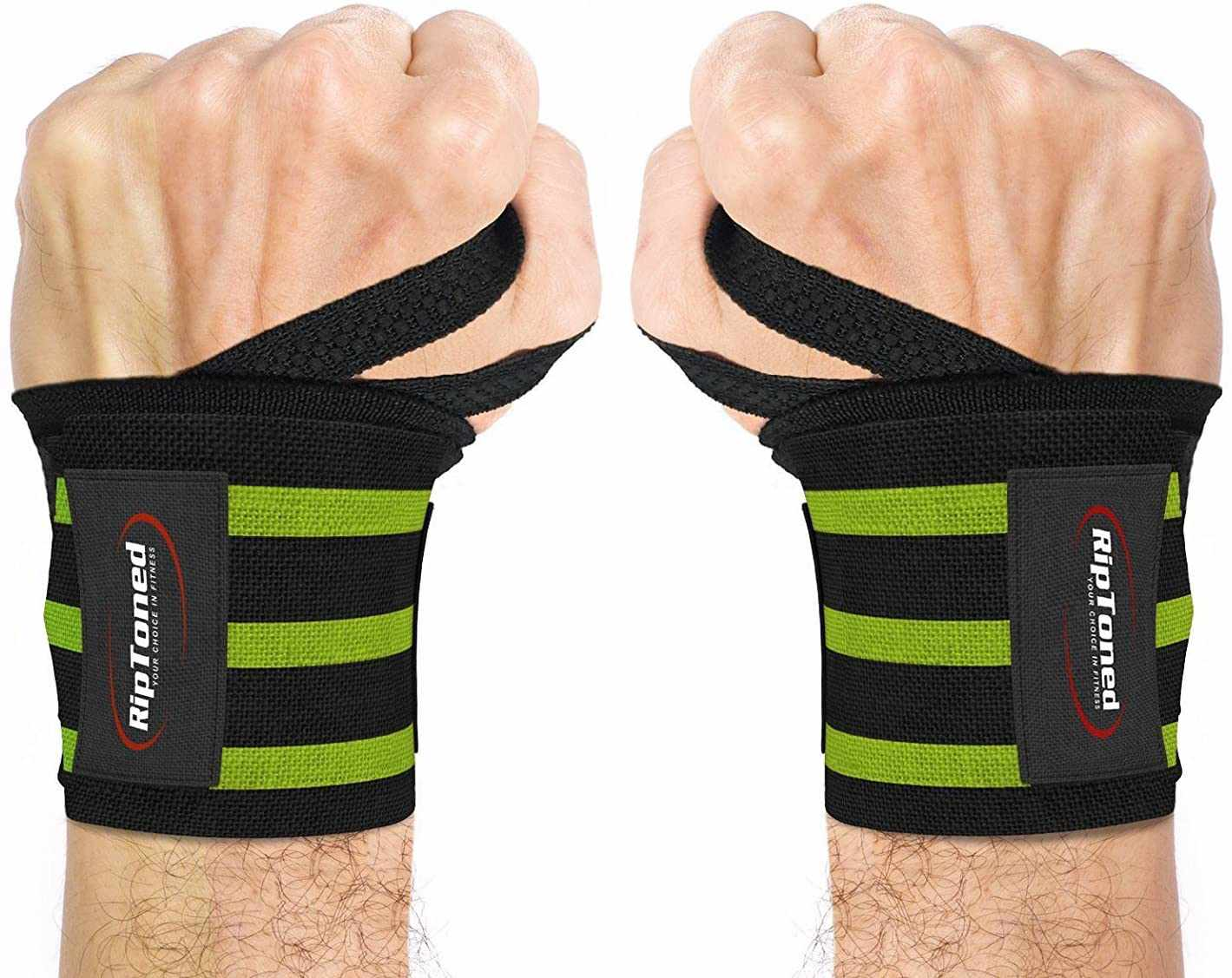 Weight Lifting Wrist Wraps Power Training Gym Workout Support Strap Extra Strong