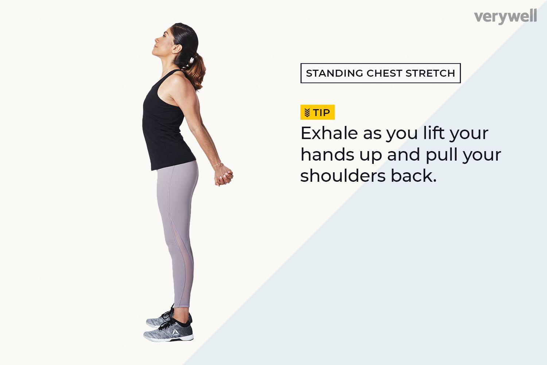 Estiramiento de pecho y hombros