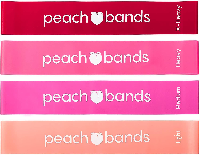 Peach Bands Resistance Bands Set