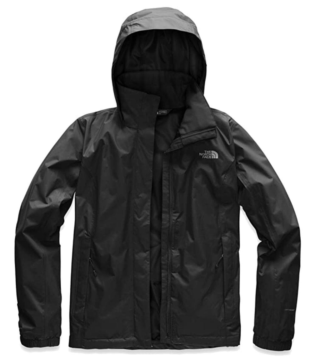 The North Face Women's Resolve 2 Waterproof Hooded Rain Jacket