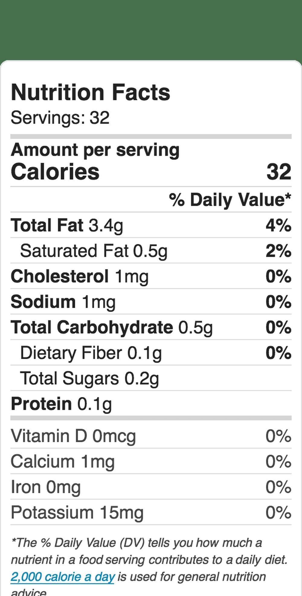Nutrition Label Embed 743716966 5B4E224446E0Fb00378Ff1F9