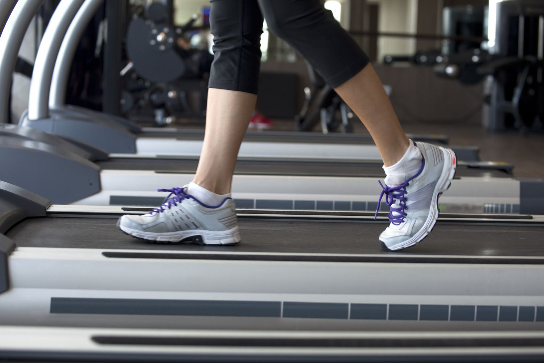 Good Stride on Treadmill