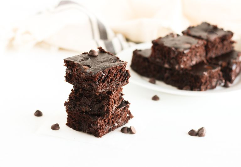 Flourless Black Bean Brownies