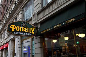 Potbelly sandwich shop.