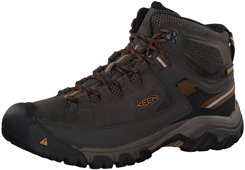 KEEN Men's Mid Height Waterproof Hiking Boots