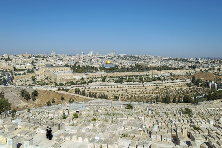 View of Jerusalem From the Mount of Olives