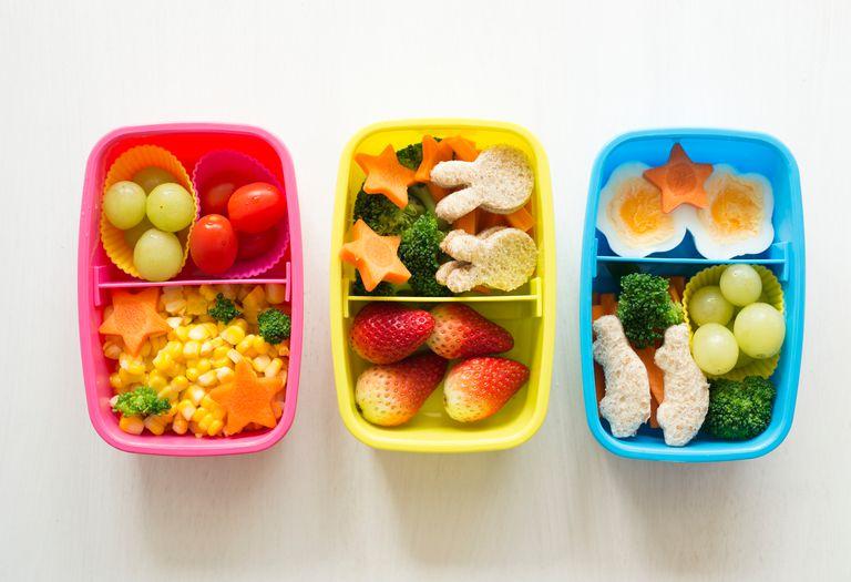 healthy kids lunch box