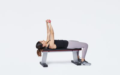 chest press on a bench