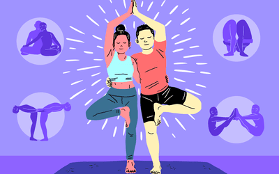 Best yoga poses for two people