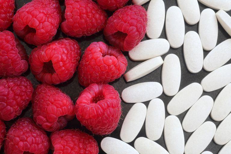 Raspberries and pills