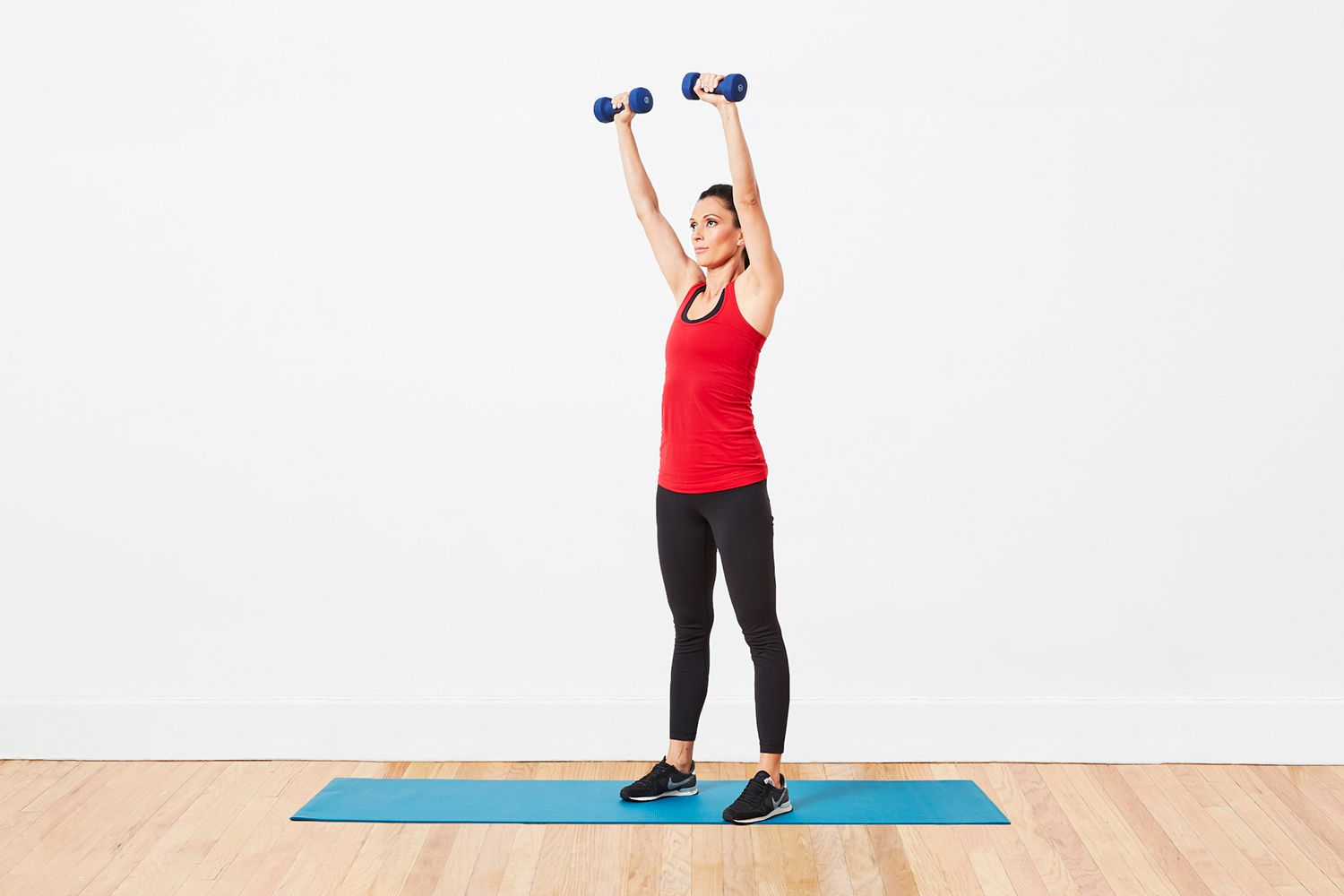 Total Body Home Workout With Dumbbells
