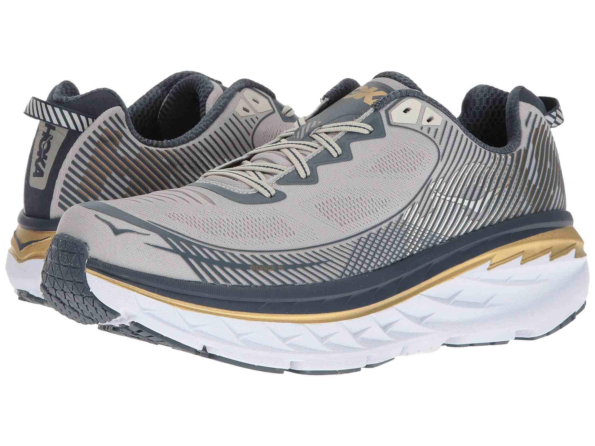 Best for Plantar Fasciitis: Hoka One One Men's Bondi Running Shoes