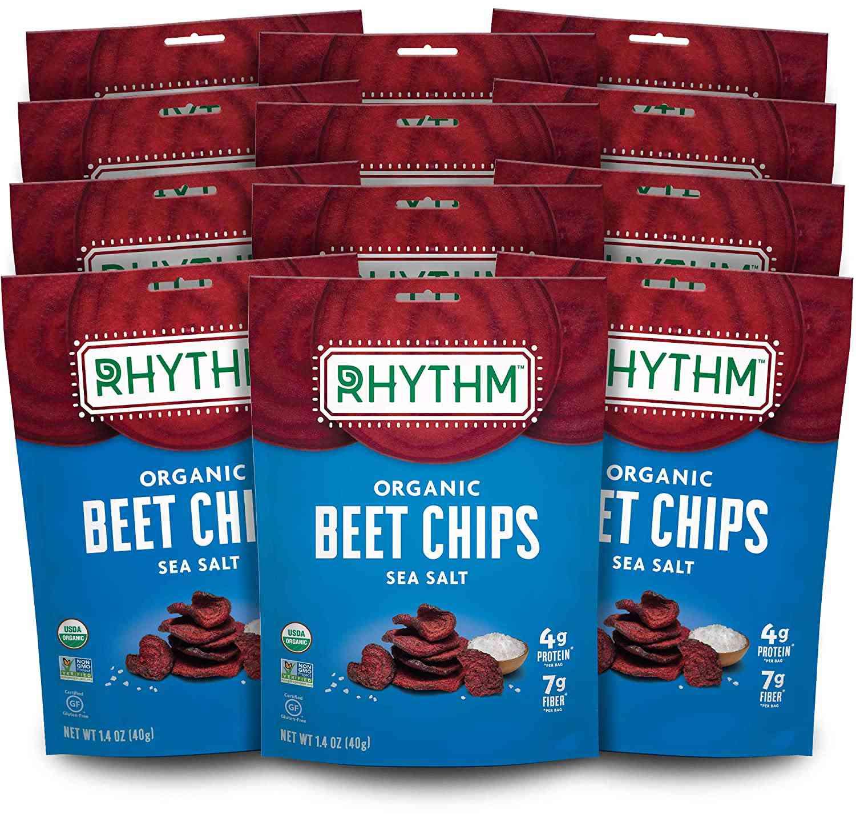 Rhythm Superfoods Beet Chips, Sea Salt