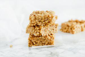Peanut Butter Crispy Squares