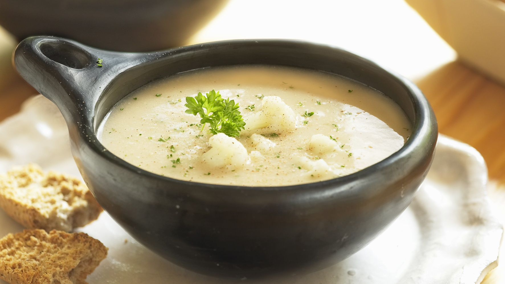 Gluten Free Low Carb Cauliflower Cheese Soup Recipe