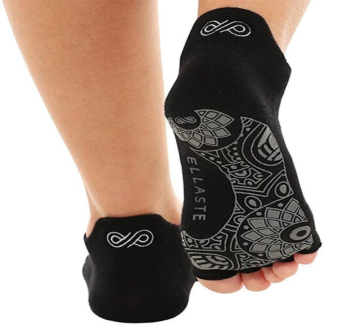 Ellaste Open Toe Yoga Socks