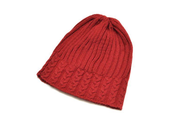 Red Stocking Hat Beanie