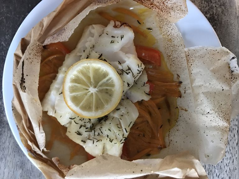 Cod Parchment Packs: An Easy Weeknight Dinner