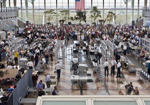 seguridad de aeropuerto