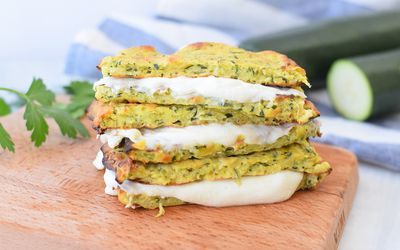 Zucchini Grilled Cheese