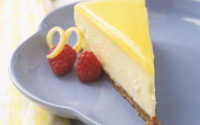 low-carb lemon cheesecake