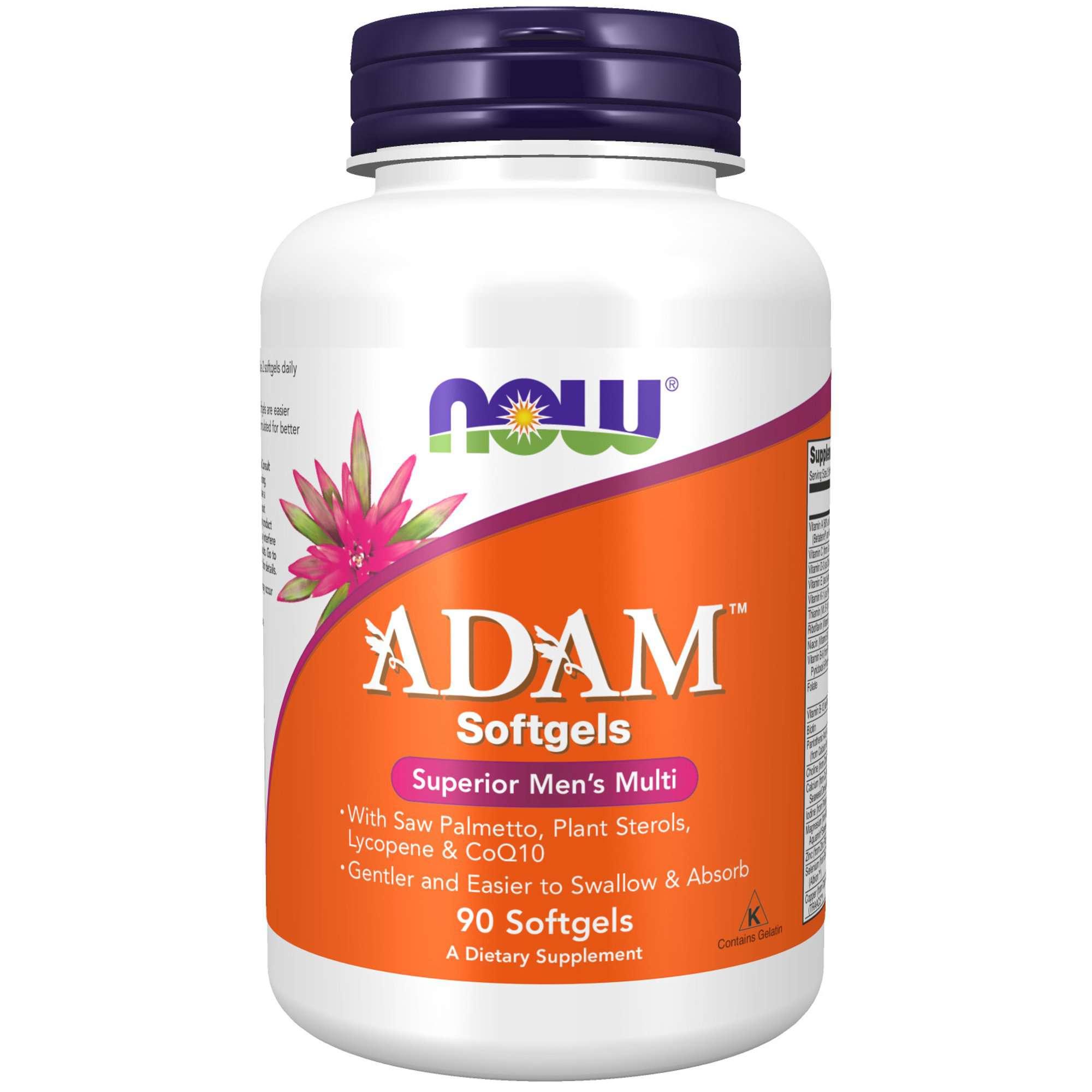 NOW Supplements ADAM Men's Multivitamin