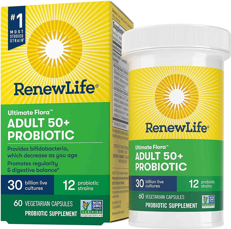 Renew Life Ultimate Flora Probiotic Capsules