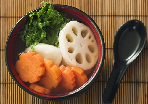 soup with lotus root