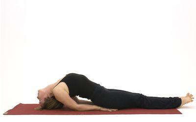 how to do supta baddha konasana reclined goddess pose