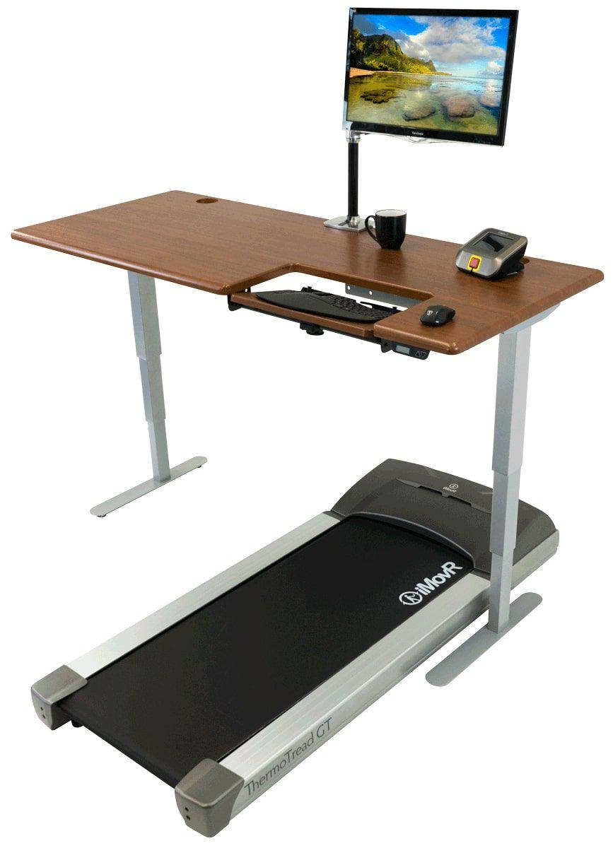 iMovR Cascade Treadmill Desk Workstation
