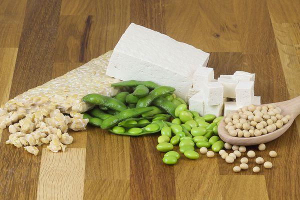 Soy beans, Tofu, Tempeh, Edamame