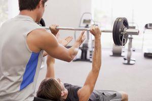 lifting barbell