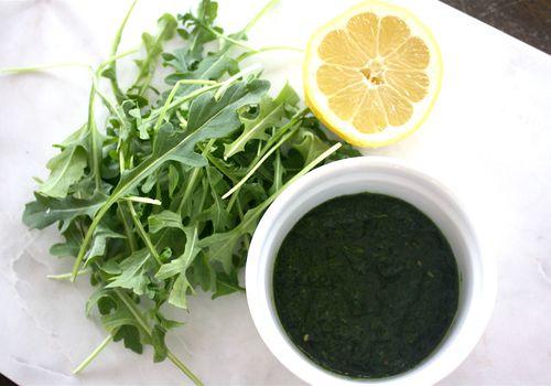 Leafy greens pesto