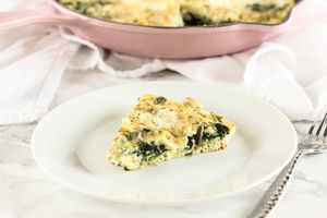 Spinach Artichoke Frittata