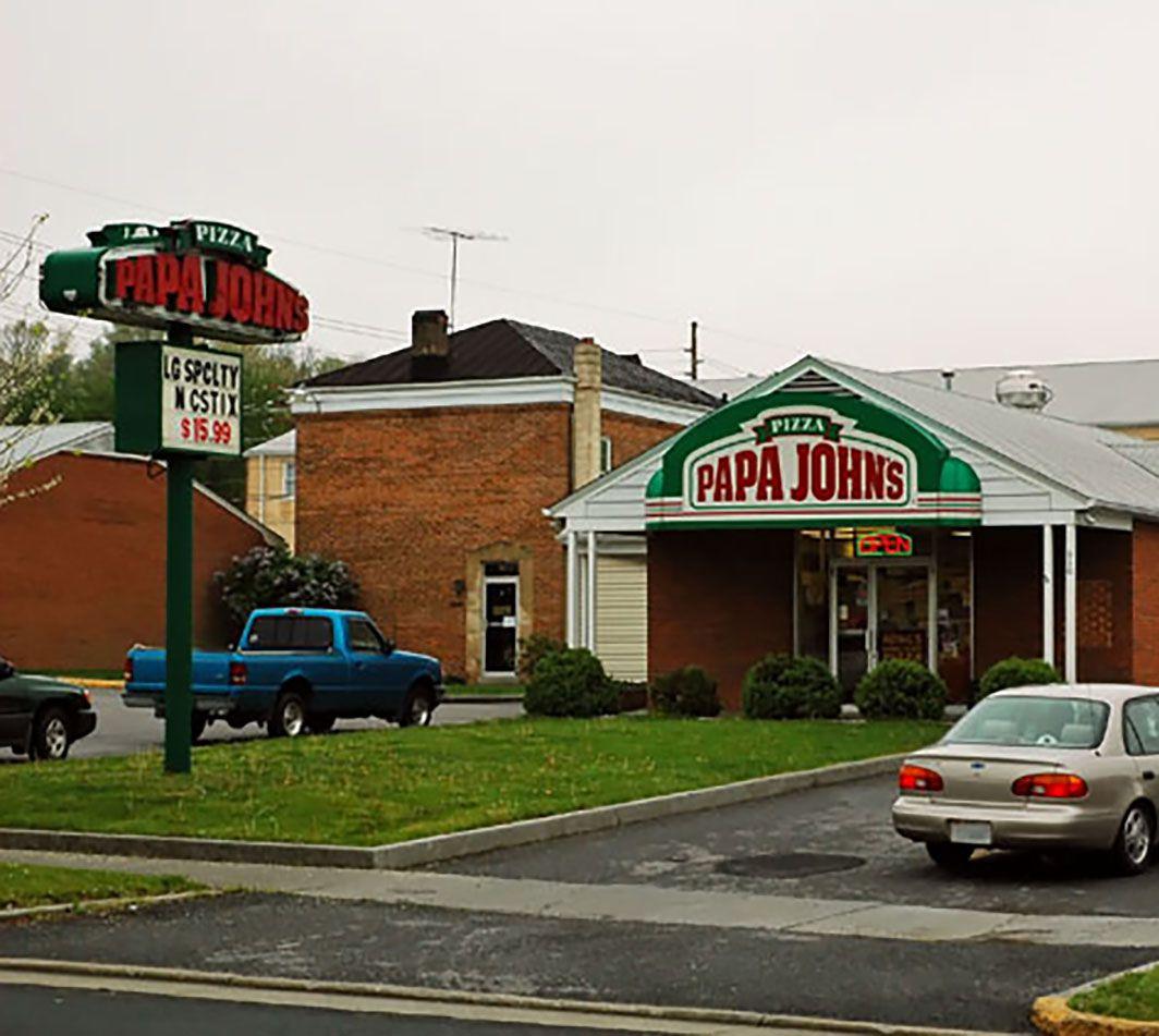 papa john & # 39; s pizza ubicación