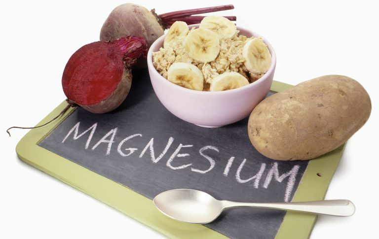 Foods high in magnesium.