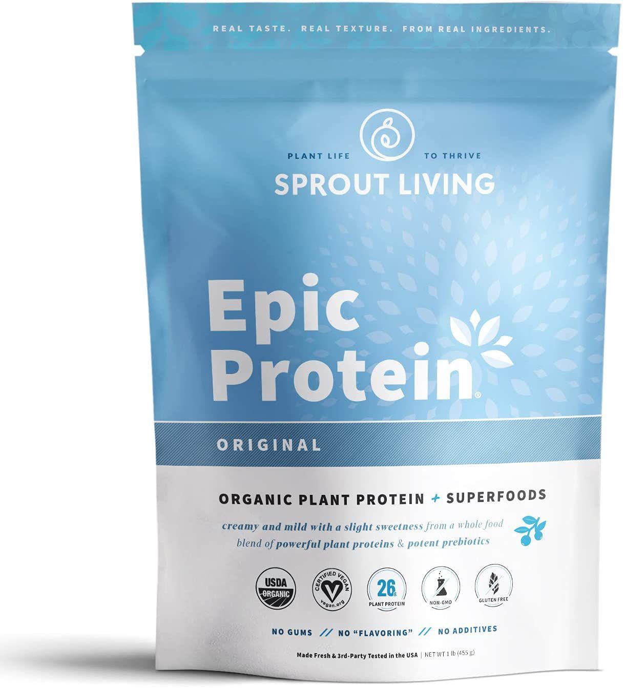 Sprout Living Epic Protein Powder Original Flavor