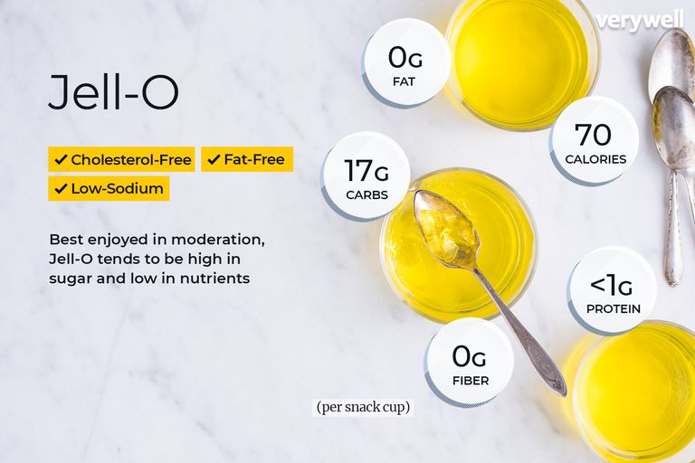 Jell-o nutritional facts