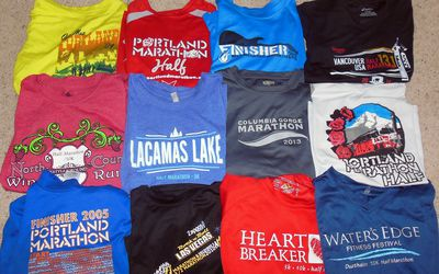 cd8f2b53b0ac3a Ways to Reuse or Recycle T-shirts and Preserve Your Race Memories