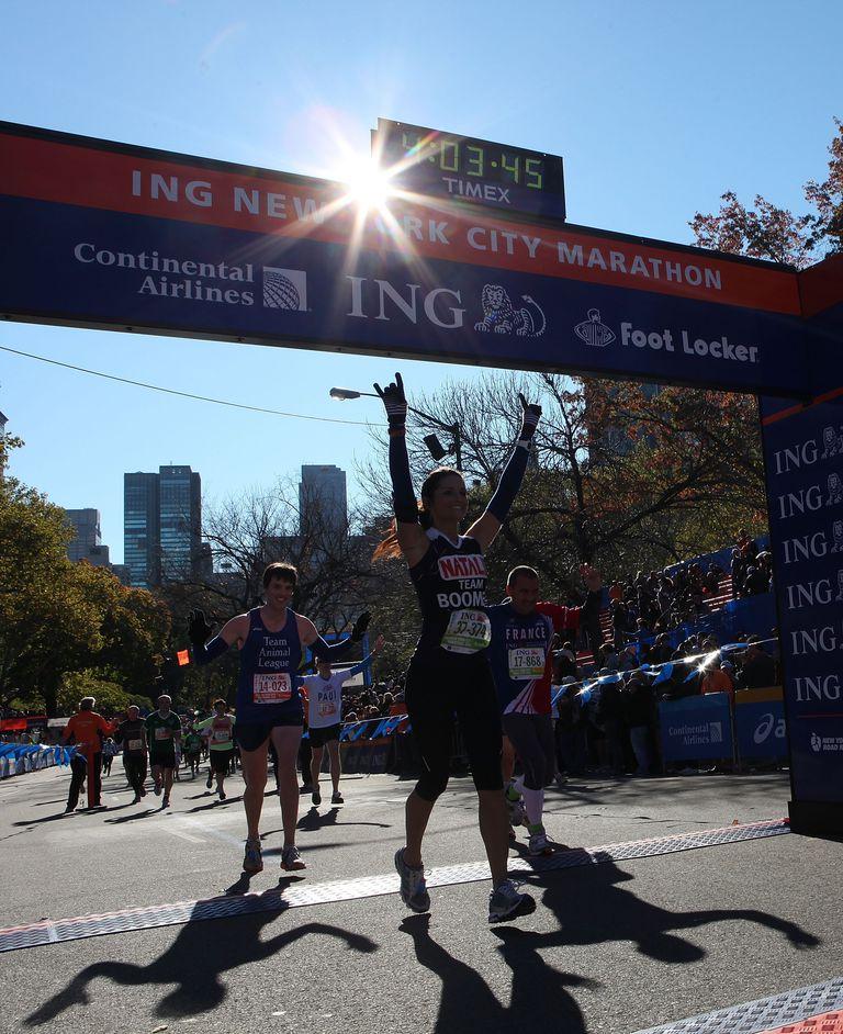 NYC Marathon Finish Line