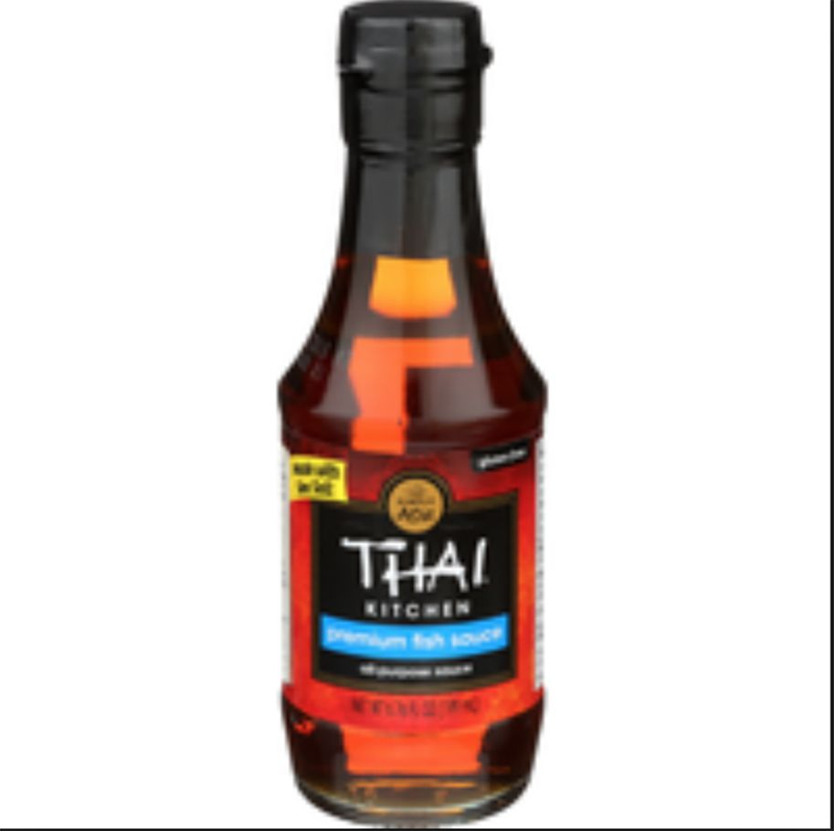 salsa de pescado de cocina tailandesa