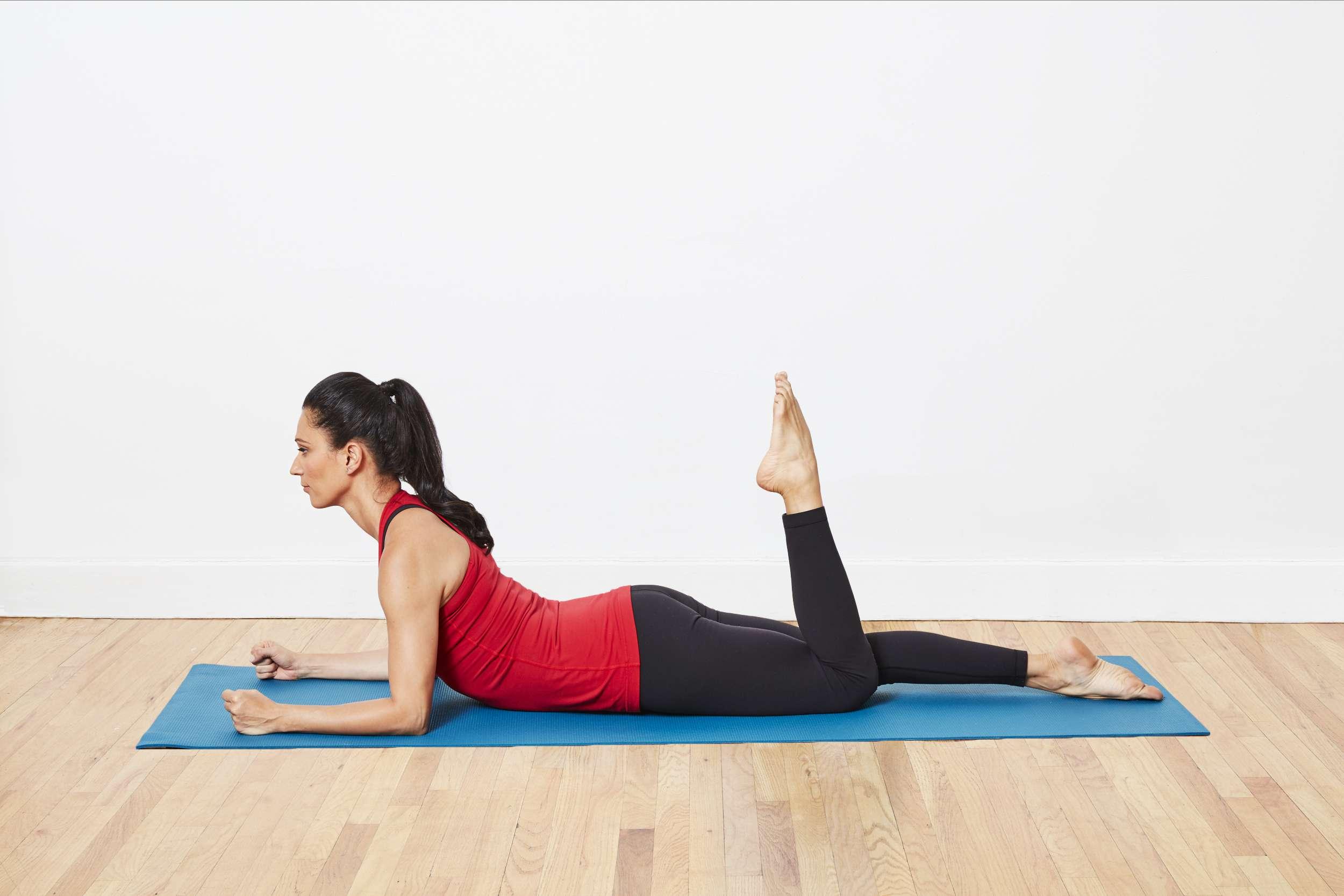 Prone Quadricep Stretch