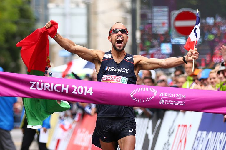 Johann Diniz Sets Mens 50K Racewalk Record 2014